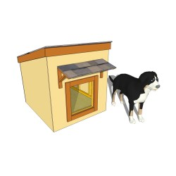 Small Crop Of Large Dog House