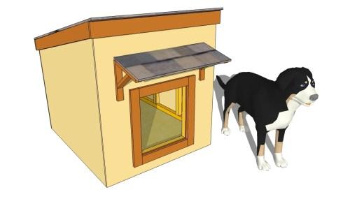 Medium Of Large Dog House