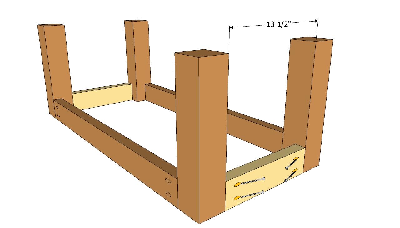 Patio Table Plans Diy table 01 overviewBryan s Site DIY Cedar