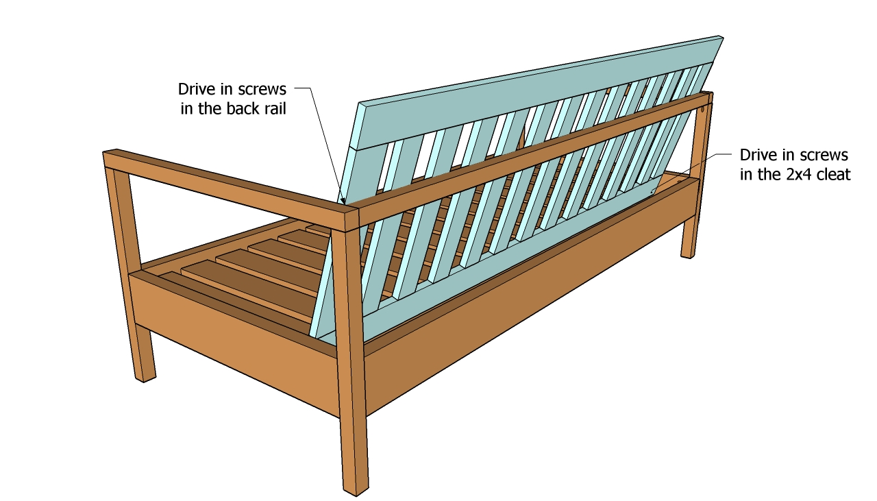Woodworking Plans Outdoor Sectional With Brilliant Example