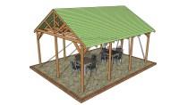 Outdoor Pavilion Plans | MyOutdoorPlans | Free Woodworking ...