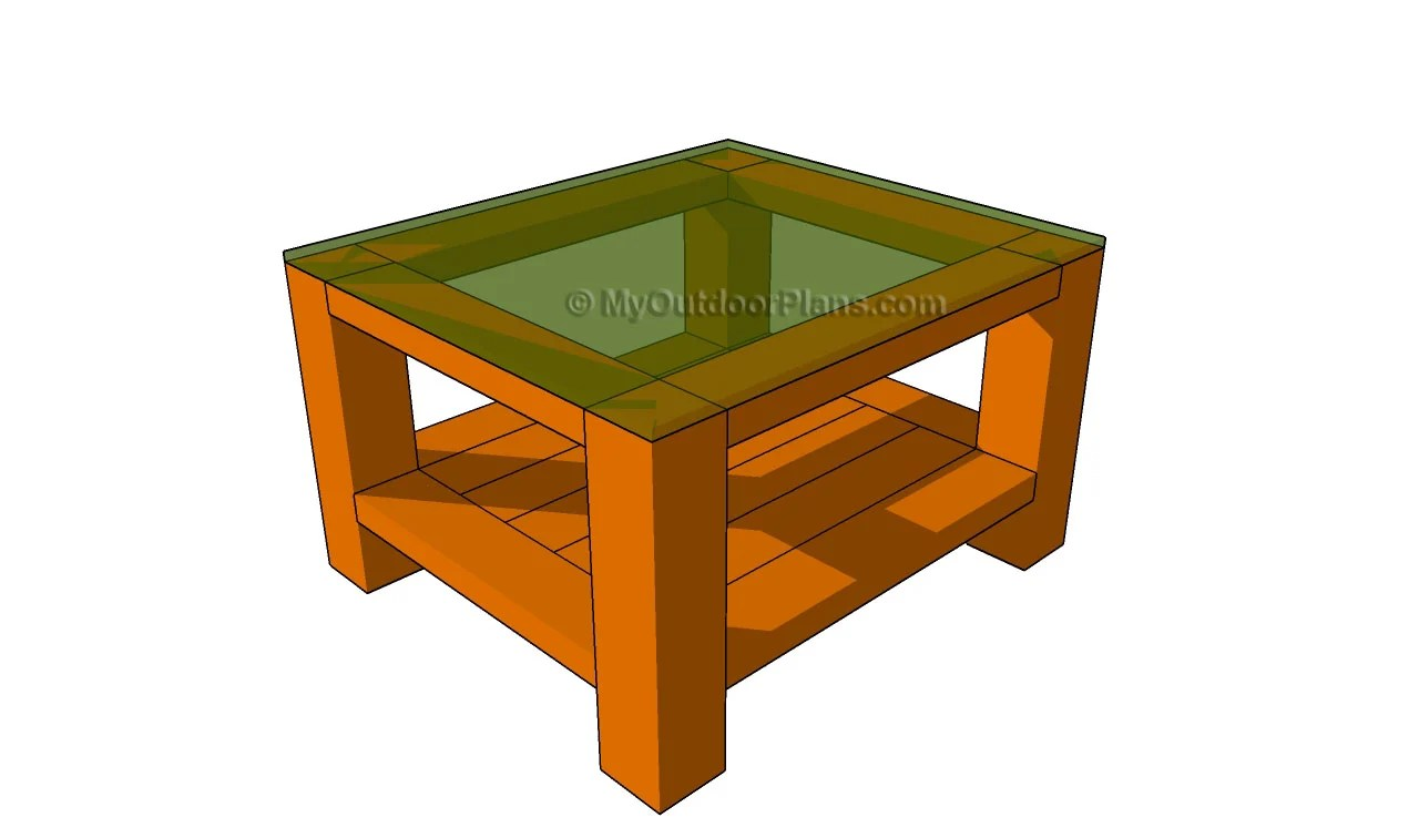 Wood End Table Plans Free