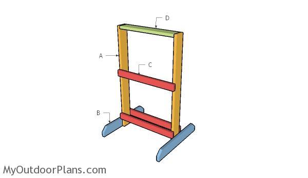 Target Stand Plans Myoutdoorplans Free Woodworking