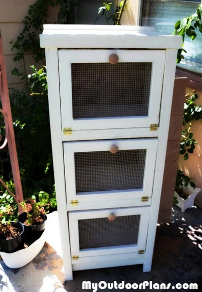 Outdoor Storage Diy Potato Bin | Myoutdoorplans | Free Woodworking Plans