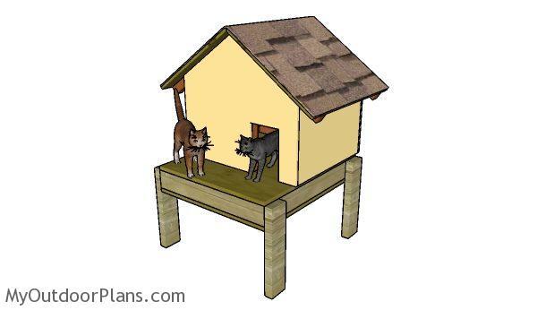 Insulated Cat House Plans Myoutdoorplans Free