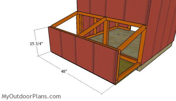 Duck House Nesting Boxes Plans Myoutdoorplans Free