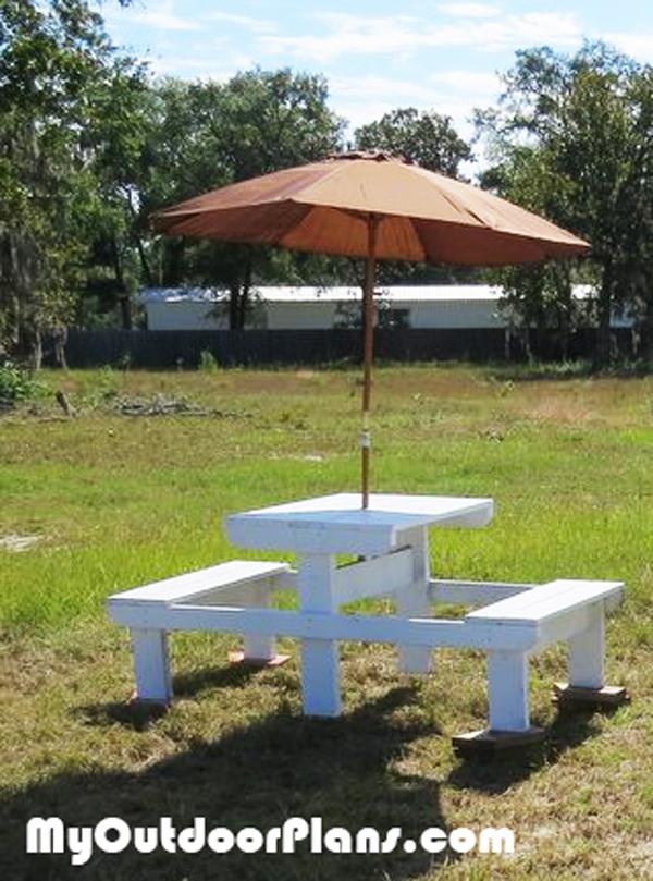 Diy Small Picnic Table Plans Myoutdoorplans Free