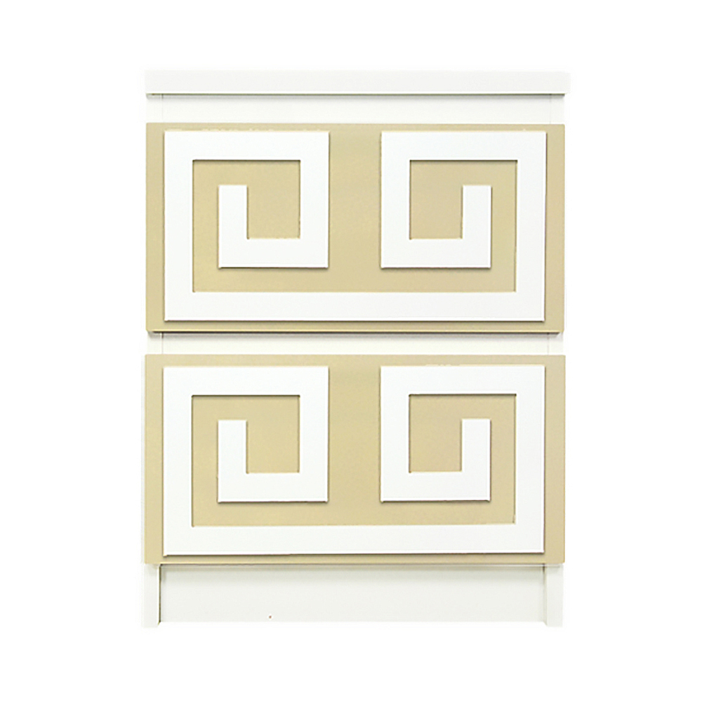 Kullen Dresser O'verlays Greek Key Double Kit For Ikea Malm 2 Drawer Dresser