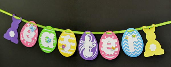 Easter Bunny Banner + Pinspiration Friday by My Paper Craze