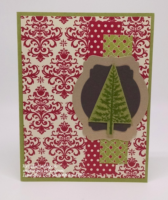 2015 Card 56 - Stampin Up Festival of Trees