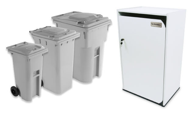 rent shredding-bins