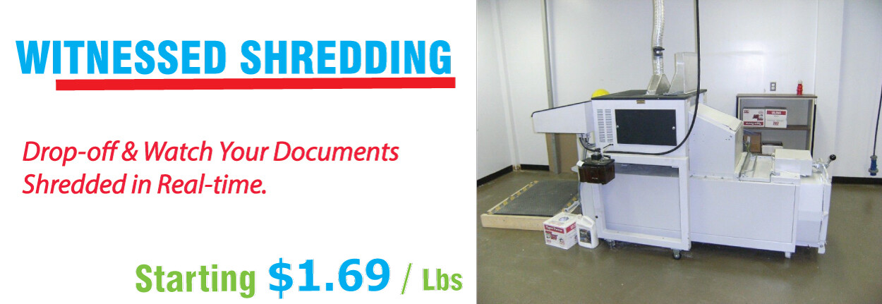 witness shredding service Boston MA