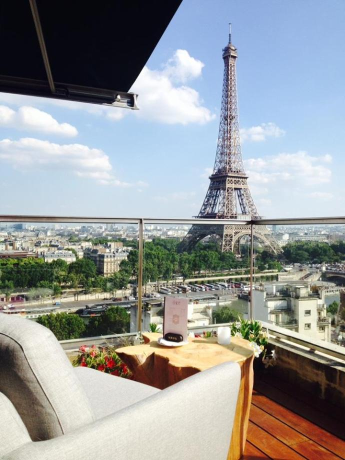 10 best rooftops in paris my parisian life for Top hotel france