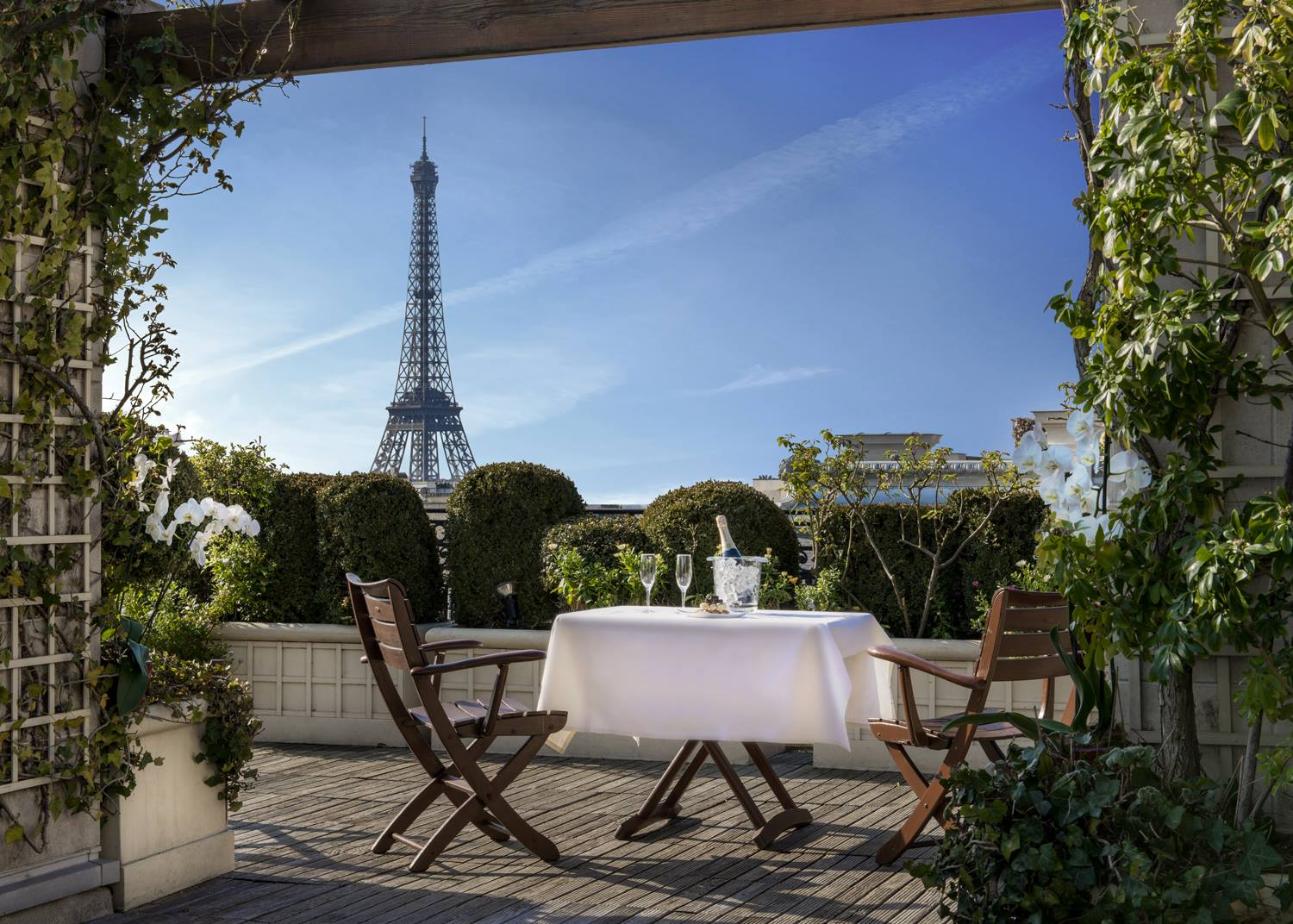 Toit Terrasse Paris Restaurant 10 Best Rooftops In Paris