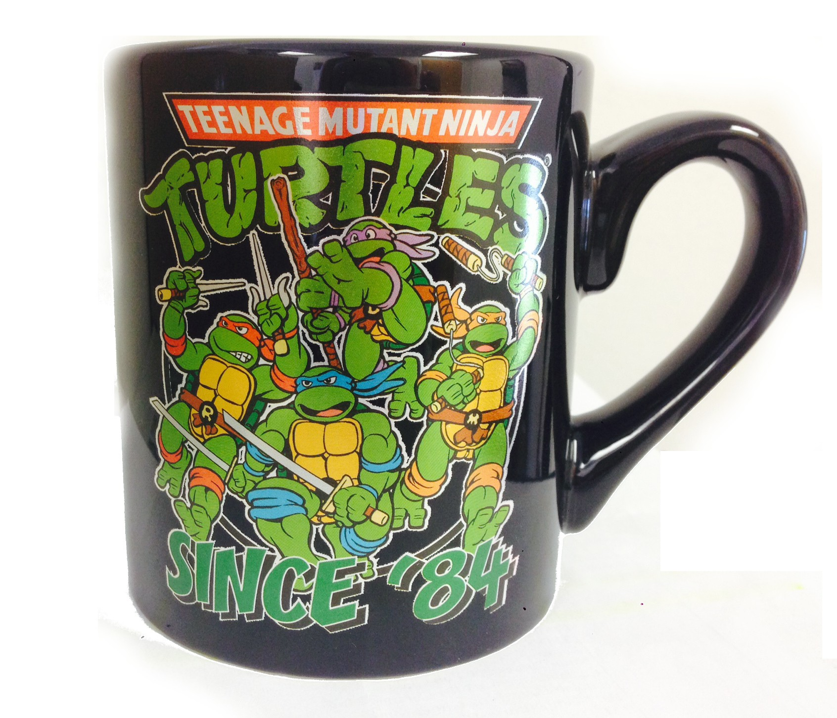 Ninja Mugs Teenage Mutant Ninja Turtles Since 3984 Coffee Mug