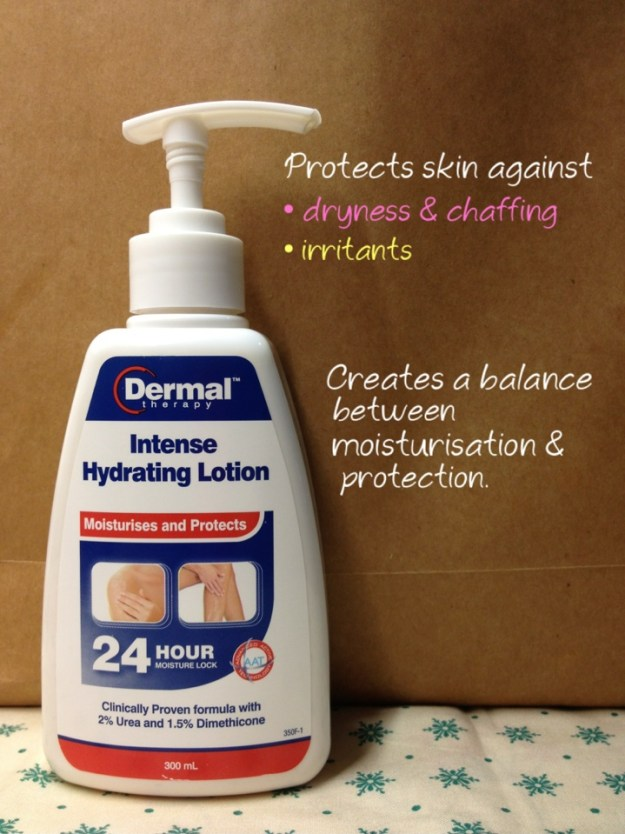 Dermal Therapy Intense Hydrating Lotion review