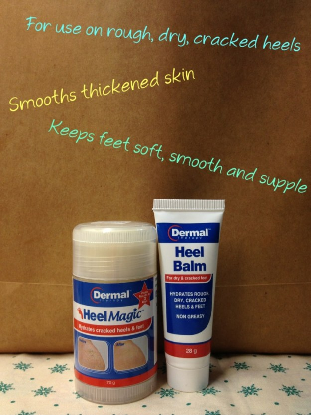 Dermal Therapy solution for cracked heels