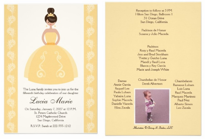 Zazzle Quinceanera Invitations Review My Perfect Quince