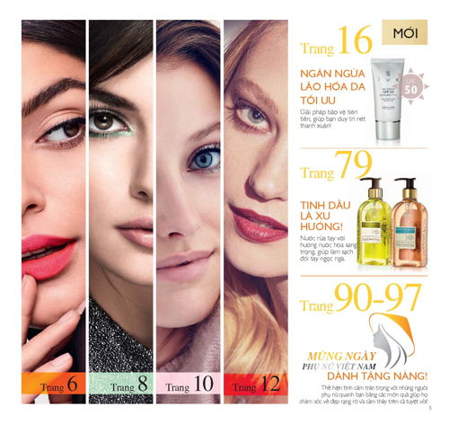 catalogue my pham oriflame thang 10 2017