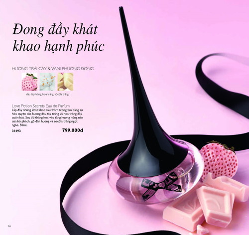 catalogue my pham oriflame thang 11 2017