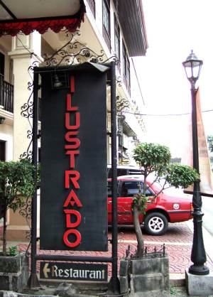 and then repair to the Ilustrado Restaurant for lunch or dinner