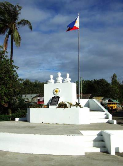 The memorial was completely rebuilt for the 65th anniversary of the landing on March 18, 2010