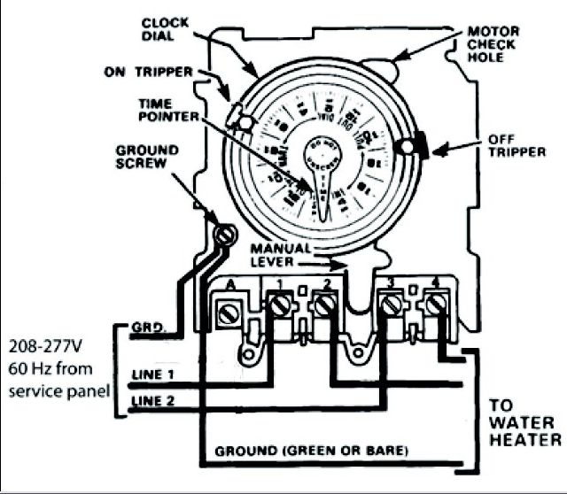 intermatic 240v photocell wiring diagram