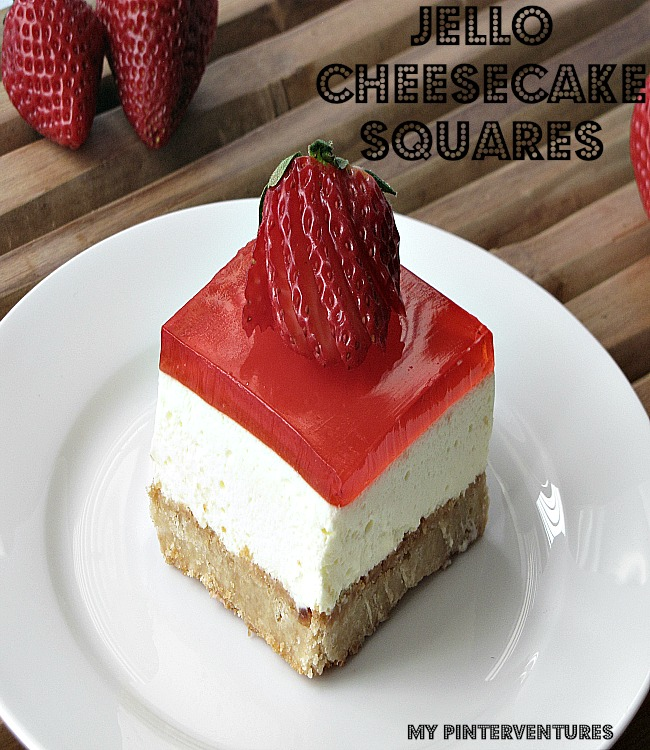 Jell-O Cheesecake Squares