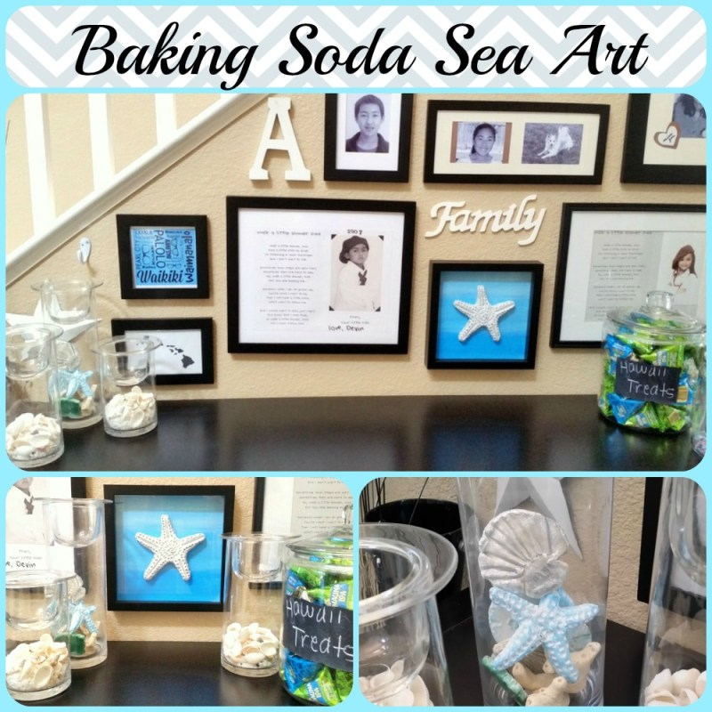 Baking Soda Sea Art Entry - Quick and easy baking soda dough recipe and starfish tutorial