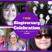 One Year Blogiversary Giveaway
