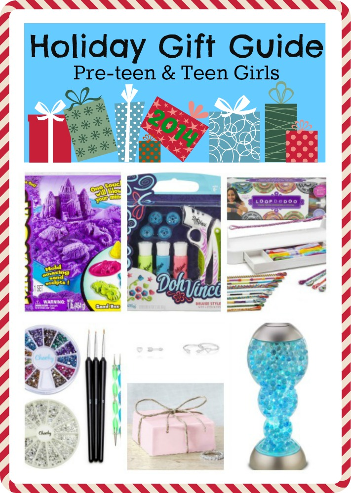 Holiday gift guide for pre teen girls