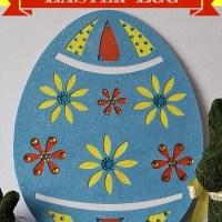 Dollar Store Giant Easter Egg