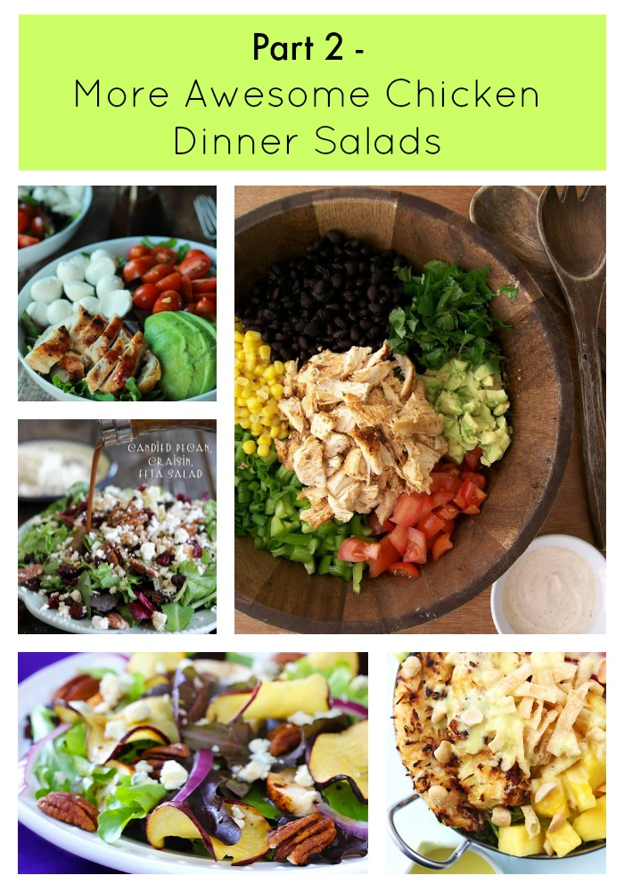 Part 2 – More Awesome Chicken Dinner Salads