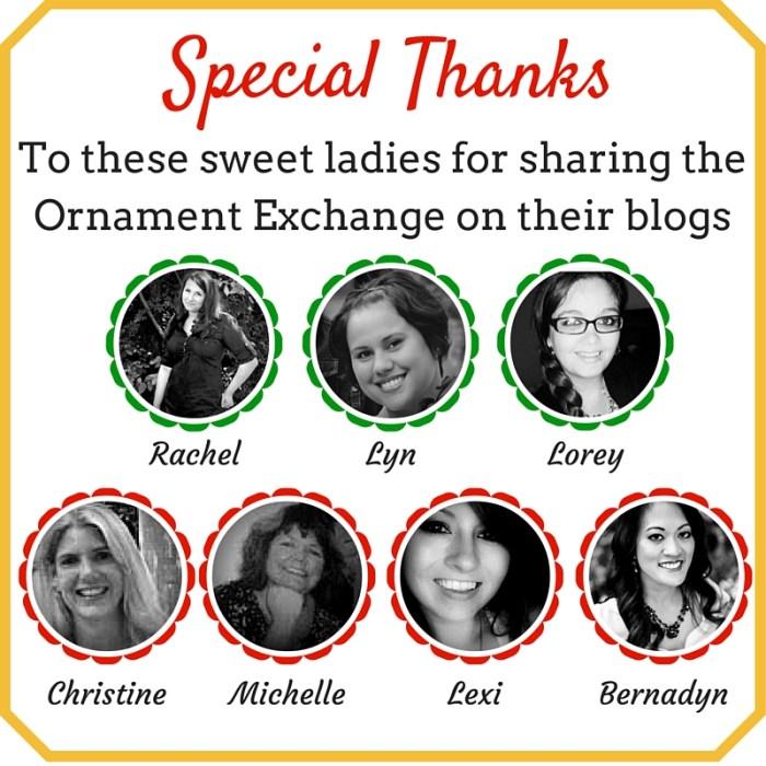 Ornament Exchange Helpers