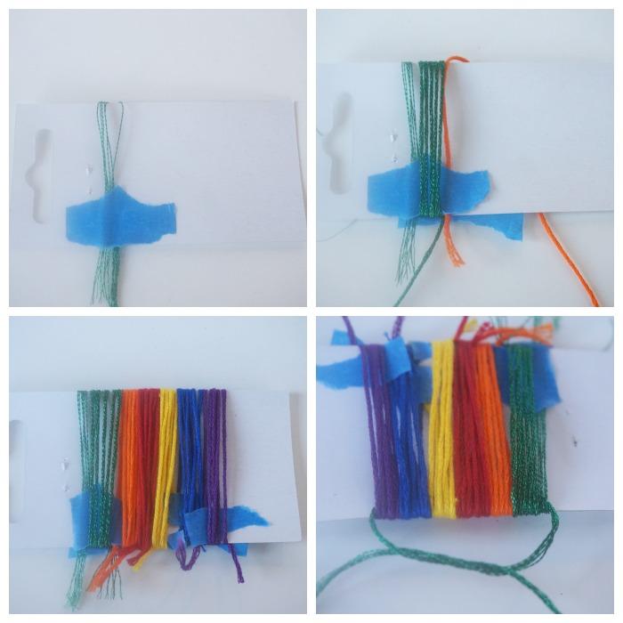 rainbow tassel