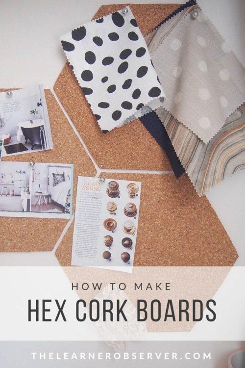 Hex Cork Boards