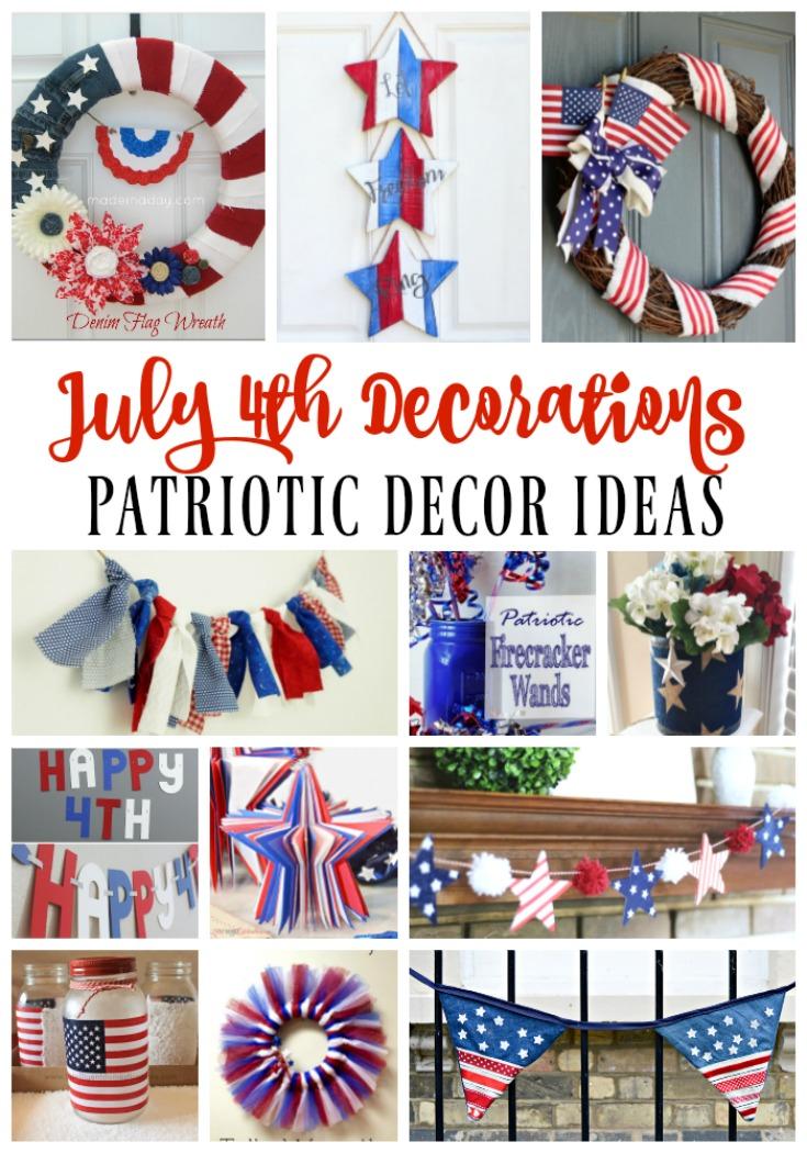 July 4th Decoration Ideas