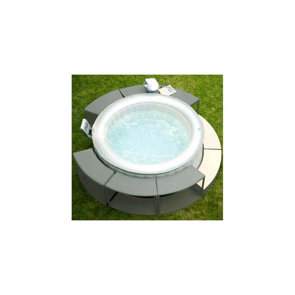 Habillage Pour Spa Gonflable Placard Pour Spa Gonflable Mspa