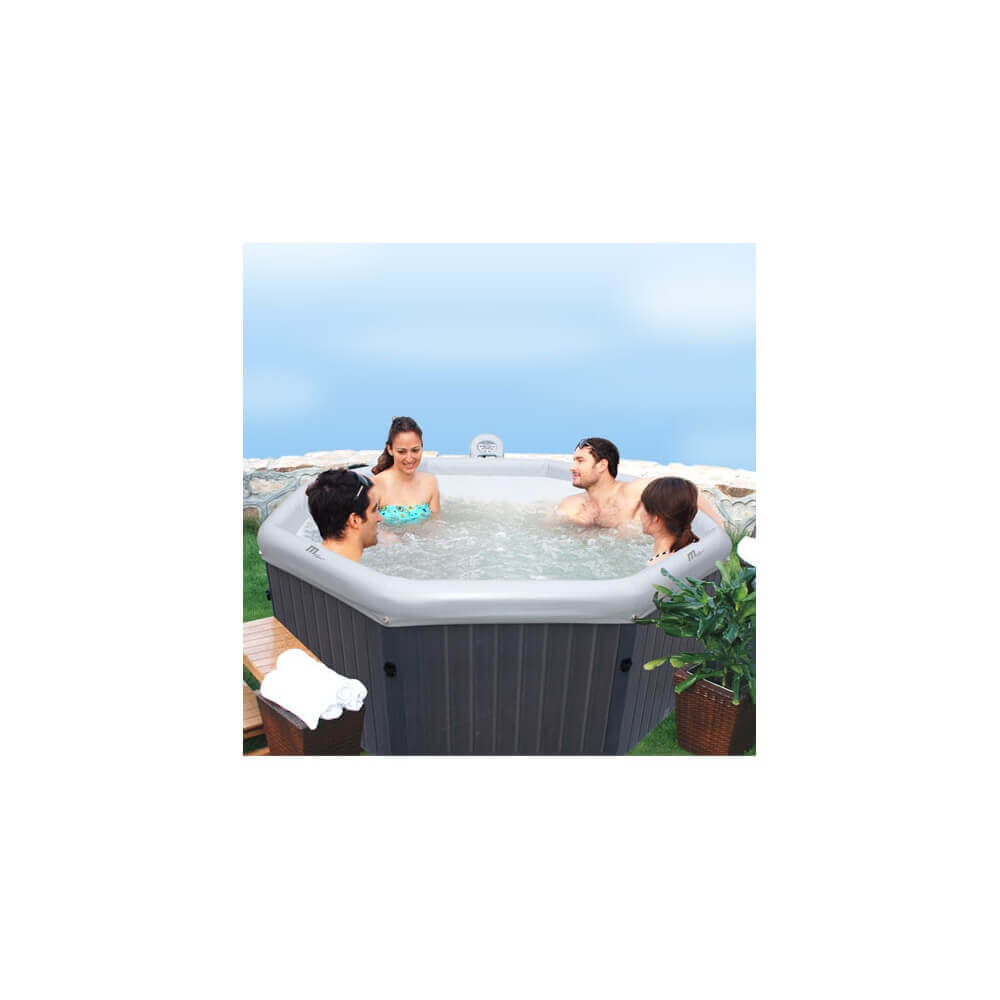 Spa Exterieur Portable Spa Portable Mspa Tuscany B170 6 Places Mypiscine
