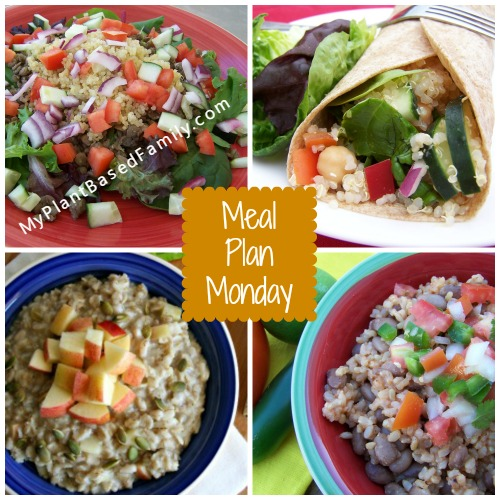 Healthy Eating Challenge Meal Plan Week 2 - My Plant-Based Family