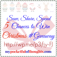 5 Chances to Win this Christmas Gift Card #Giveaway