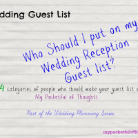 4 Tips on Who Should Make your Wedding Guest List.