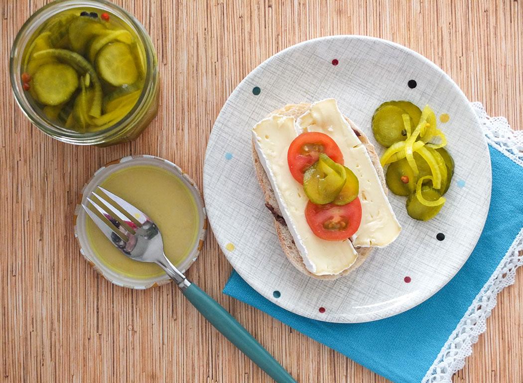 Tumeric & Mustard Seed Cucumber Pickles