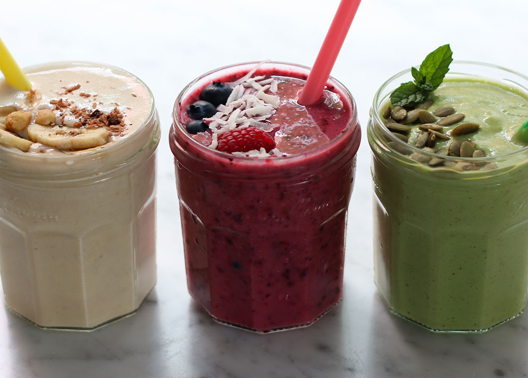 3 Plant Based Smoothies the whole family will LOVE!