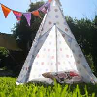 How To: DIY Tee Pee Tent - part 2