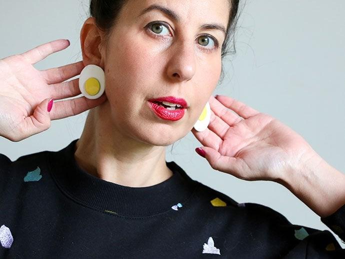 Fried Egg Earrings – An Eggcellent Idea!