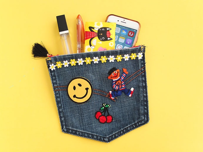 Upcycle Craft: Portable Pocket Pouch