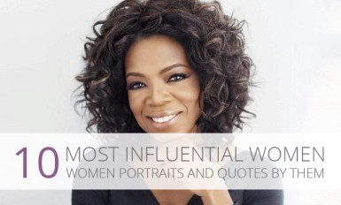 10 Most Influential Women Portraits & Quotes