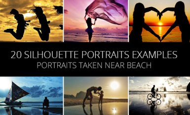 20 Great Silhouette Portraits Examples Taken Near Beach