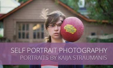 Unique Self Portrait Photography by Kaija Straumanis
